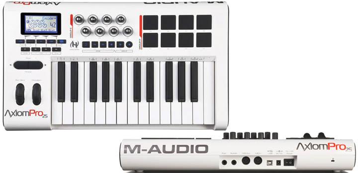 Axiom Advanced Semi-Weighted Action USB MIDI Keyboard