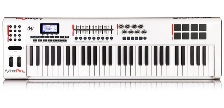 Axiom Advanced Semi-Weighted Action USB MIDI Keyboard