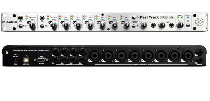 Fast track ultra 8r for Firewire mixer motorized faders